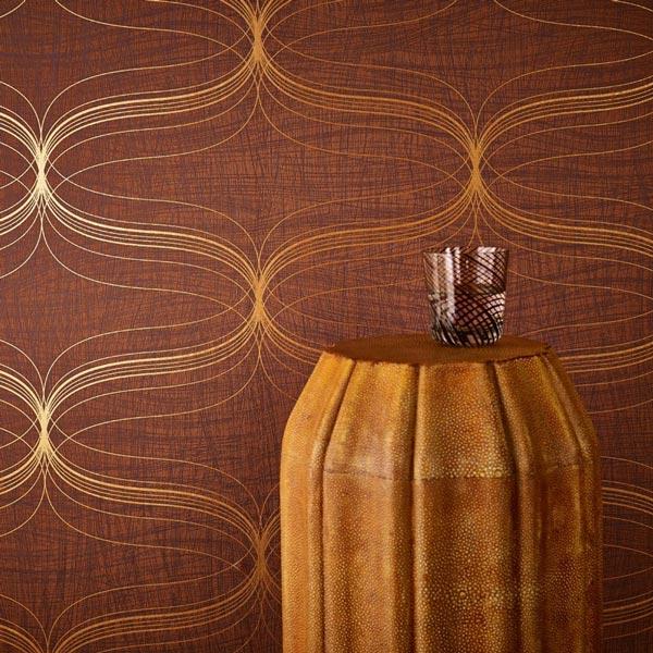 کاغذ دیواری جدید با طرح های آبستره