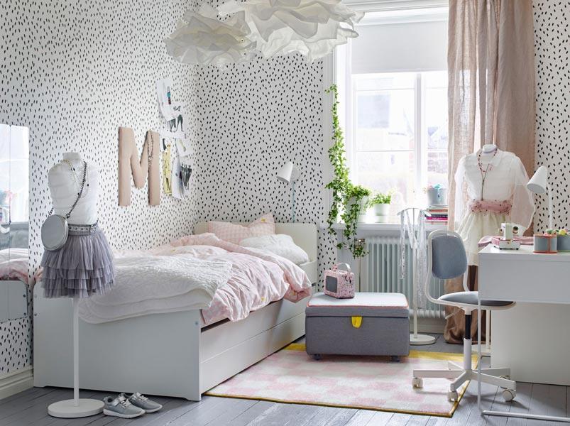 کاغذ دیواری اتاق کودم با طرح ها و رنگ های متناسب با سنشان