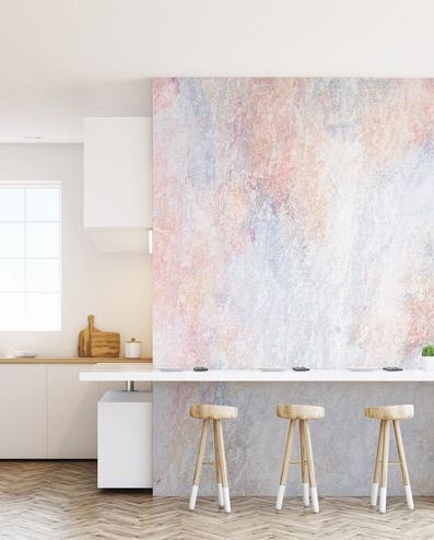 کاغذ دیواری آشپزخانه با طرح مرمر