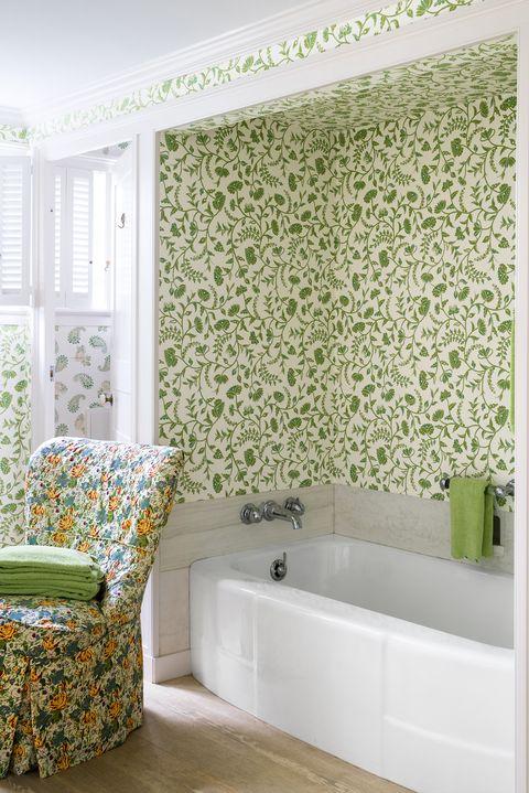 کاغذ دیواری قابل شست و شو با رنگ و بوی بهاری