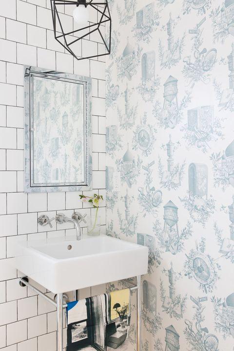 کاغذ دیواری قابل شست و شو مناسب برای یک دیوار