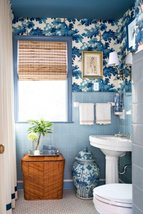کاغذ دیواری قابل شست و شو برای حمام 4