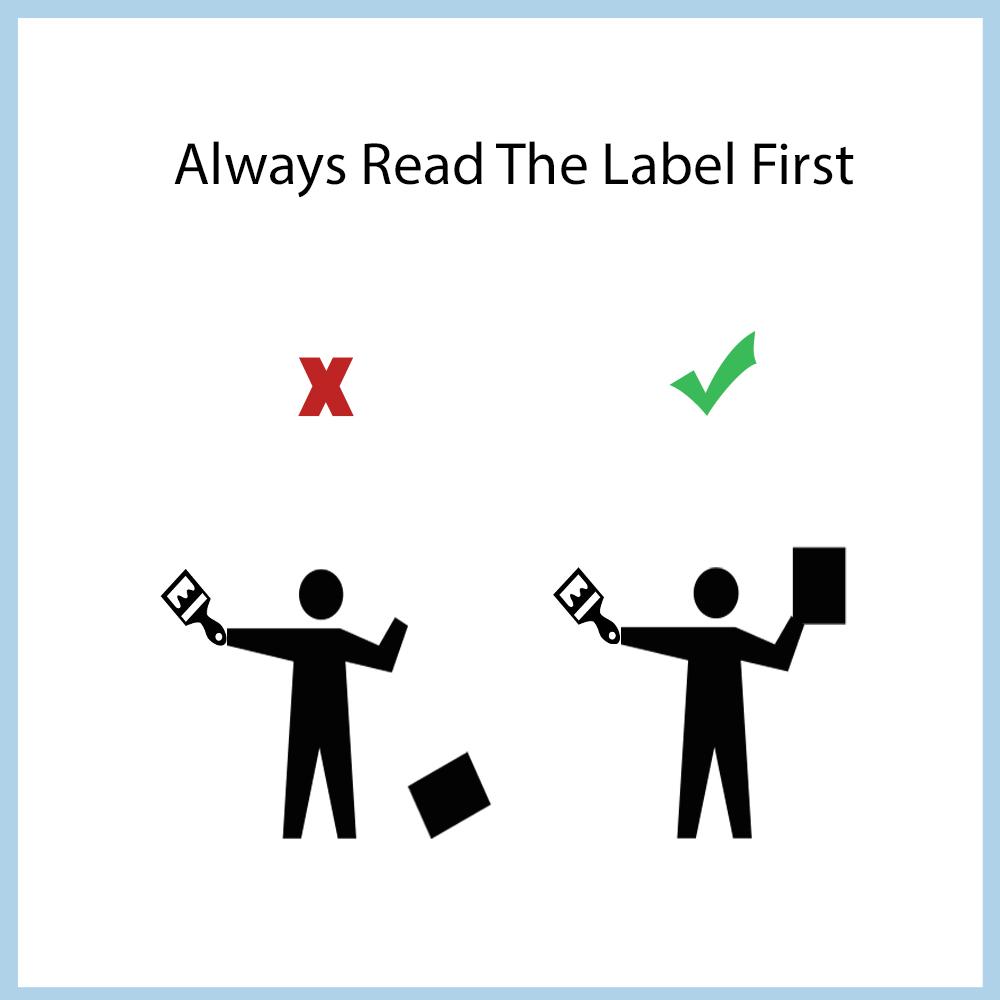 خواندن دقیق دستورالعمل ها در هنگام نصب کاغذ دیواری